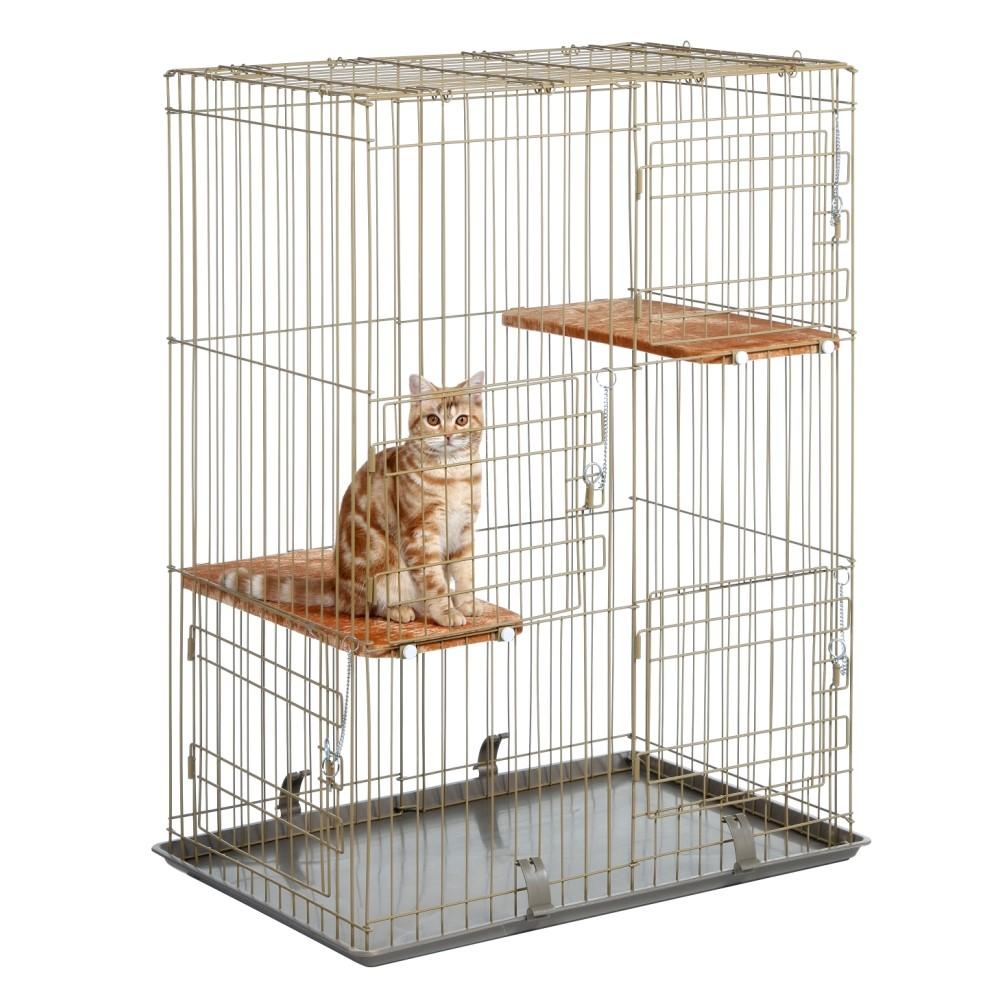 Marukan《雙層貓籠四門》CT-200