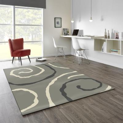 范登伯格 - 艾薇兒 多變視覺地毯 - 漩渦 (140 x 200cm)