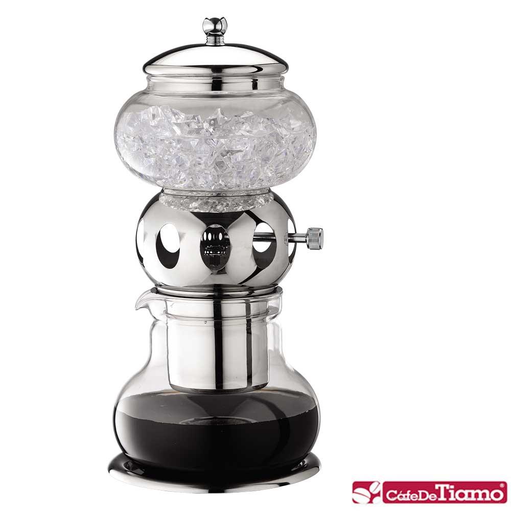 Tiamo 日式小冰滴咖啡壺銀色 600ml