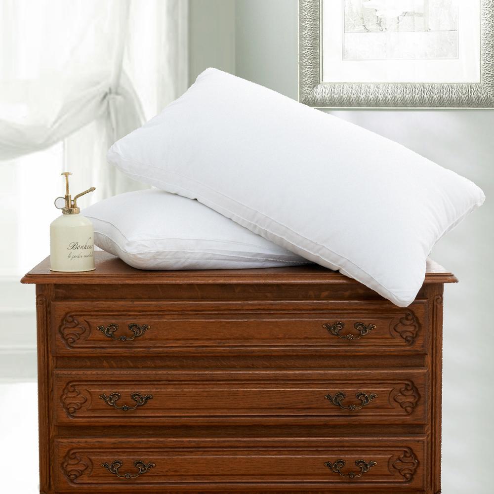 【HOYACASA 】 羽絲絨纖維枕(二入)