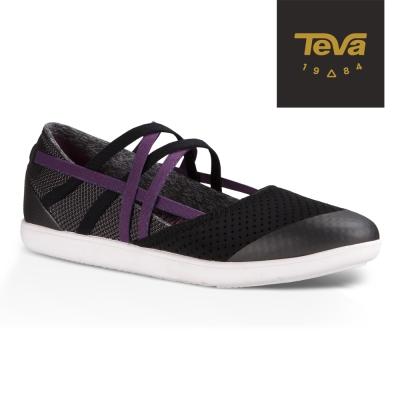 TEVA 美國 女 Hydro-Life Slip-On 輕量休閒鞋 (黑)
