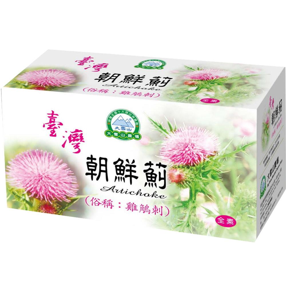 大雪山農場 台灣朝鮮薊(30包x6盒)