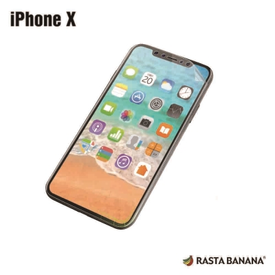 RASTA BANANA iPHONE X 3D 全滿版保貼