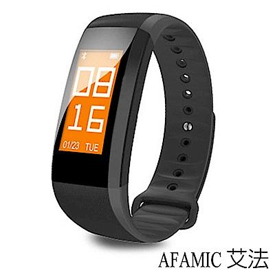 【AFAMIC 艾法】M99藍芽心率全彩屏運動手環 運動手錶 防盜智慧手錶