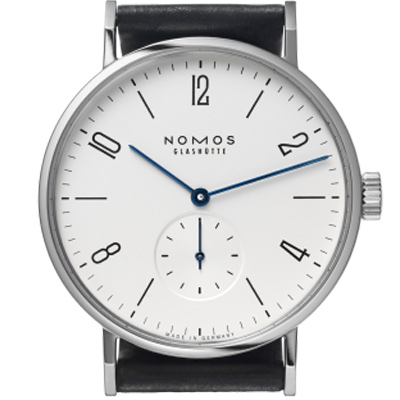 NOMOS Tangomat Automatic 601 小秒針腕錶-白/38.3mm