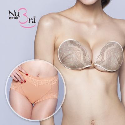 NuBra-隱形胸罩-凱特玫瑰-短塑褲