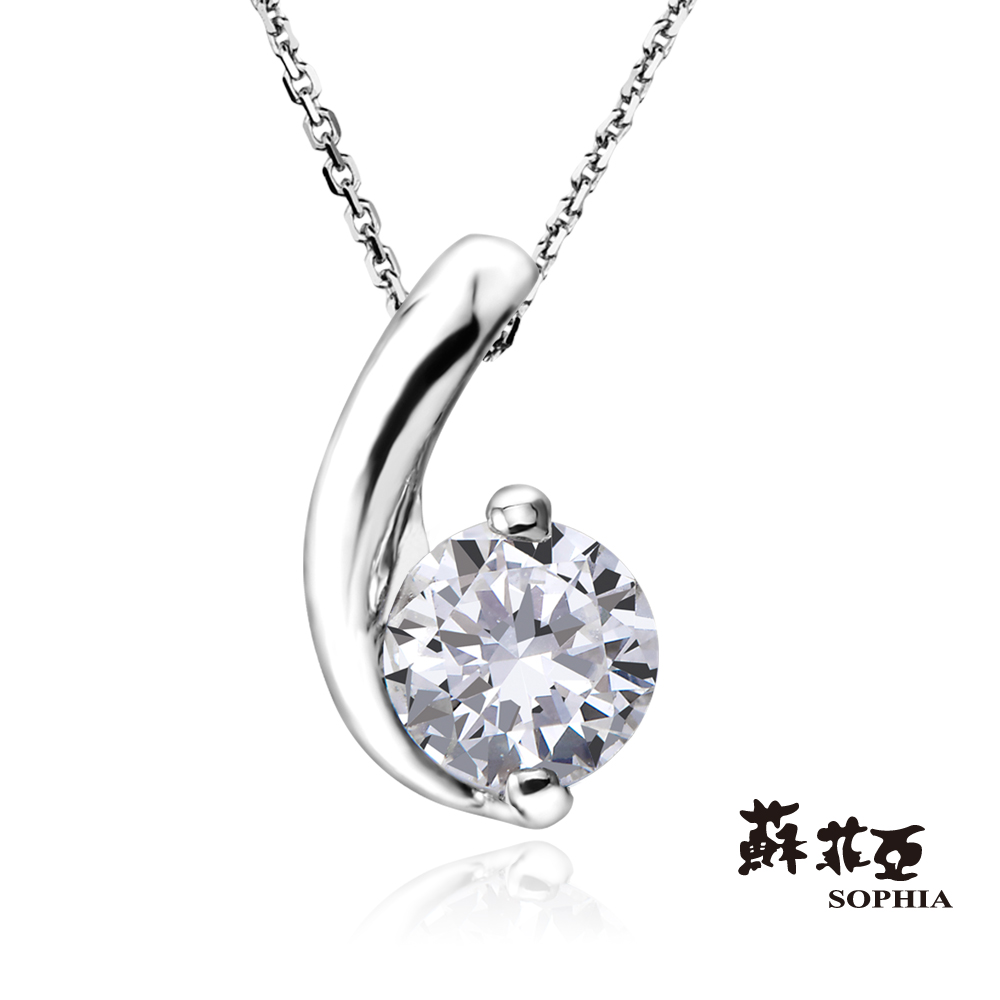 蘇菲亞SOPHIA 鑽石項鍊-小寶貝0.30克拉ESI鑽鍊