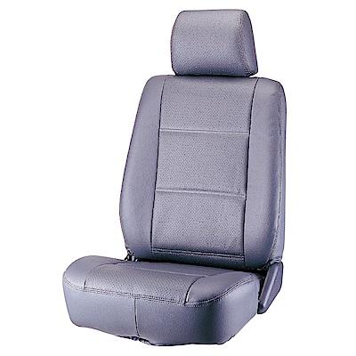 【葵花】量身訂做-汽車椅套-合成皮-開運D式-A款-轎車款第1+2排