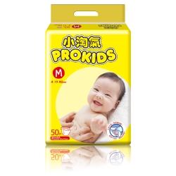 小淘氣 透氣乾爽嬰兒紙尿褲50片x6包