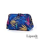 法國時尚Lipault Tropical Night盥洗包(熱帶藍)