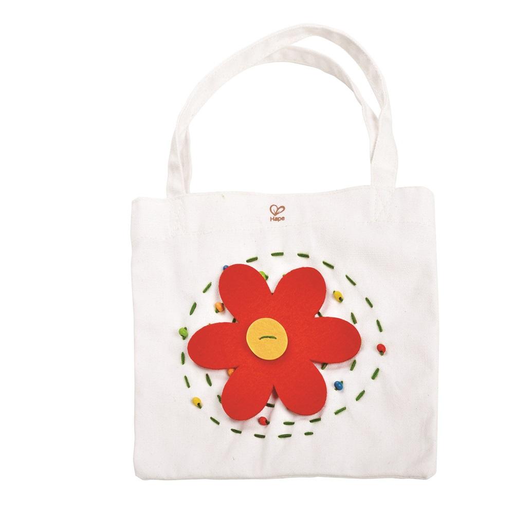 德國Hape愛傑卡 木製工藝系列-提袋刺繡