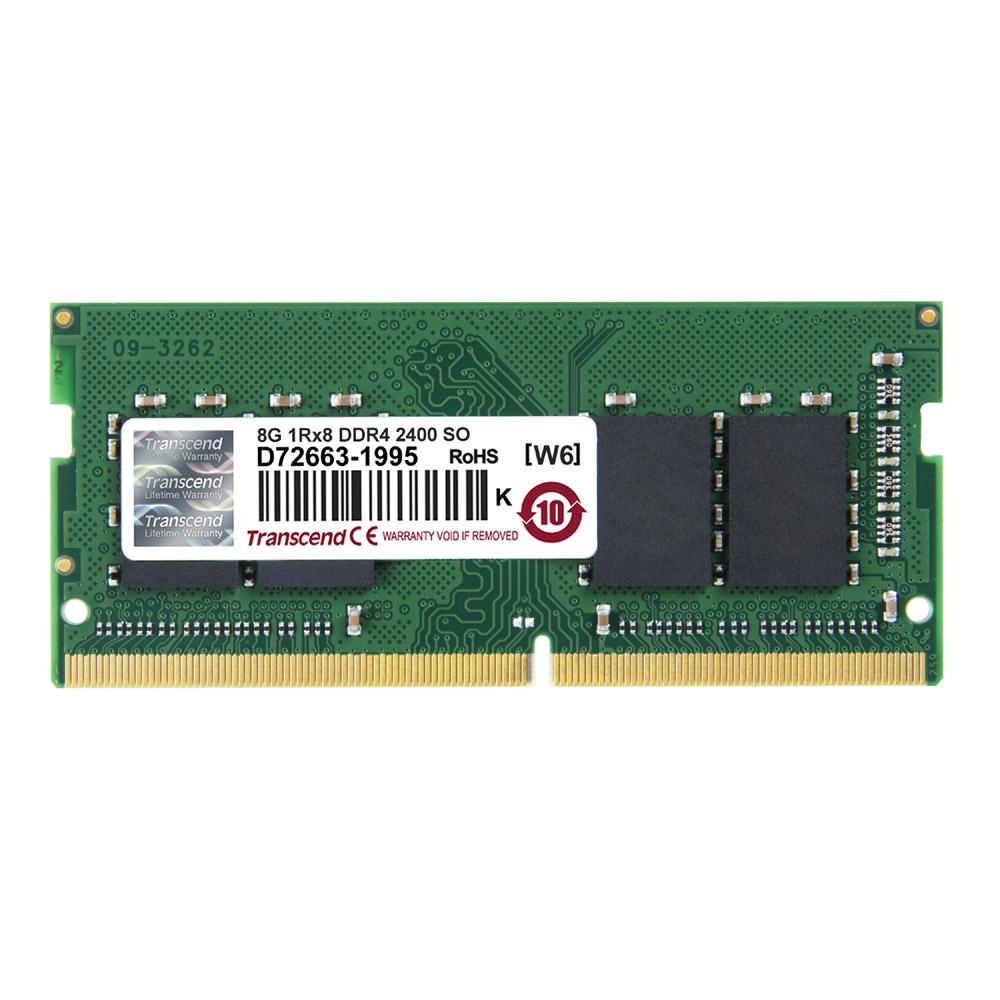 創見 Transcend  DDR4-2400 8G 筆電專用記憶體(JetRam)