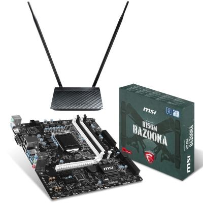 【超值組合】微星 B150M BAZOOKA 主機板 + 華碩 RT-N12HP 無線分享