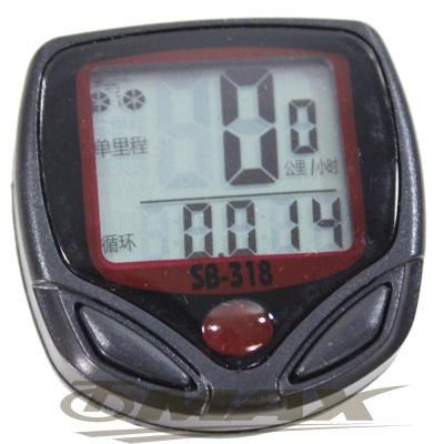 omax防水大面板自行車碼表