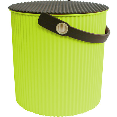 Sceltevie 瓦楞收納桶(綠L)