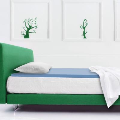 幸福角落 防蹣抗菌布套3cm釋壓記憶床墊-單人加大3.5尺