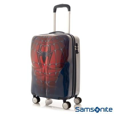 Samsonite新秀麗-20吋Marvel漫威英雄3D立體TSA登機箱-蜘蛛人