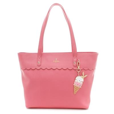 PLAYBOY-Ice-Cream-系列購物袋-桃紅色