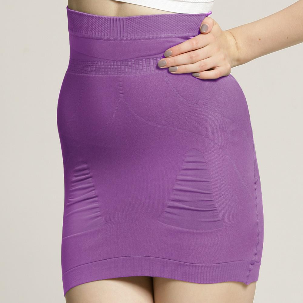 足下物語  280D美臀纖腰塑裙 (S-L) (紫)