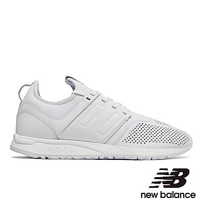 New Balanc復古鞋MRL247LW-D中性白色