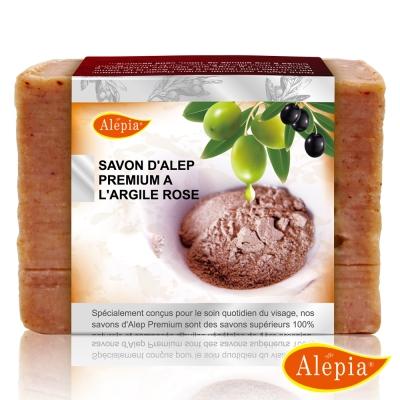 法國原裝進口 Alepia 經典火山紅泥童顏煥膚皂(130g-150gx3)