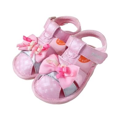 魔法Baby 粉嫩蝴蝶結女童涼鞋 sh3744