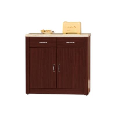 Bernice-文斯2.7尺石面碗盤收納餐櫃(下座)-81x43x82cm
