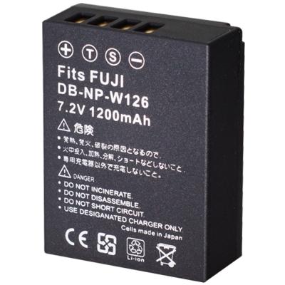 Kamera for Fujifilm NP-W126 高品質鋰電池(DB-NP-FW126)