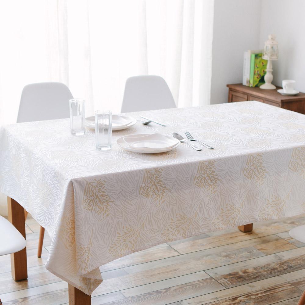 伊美居 - 森林防潑水桌巾 140cmX195cm 1件