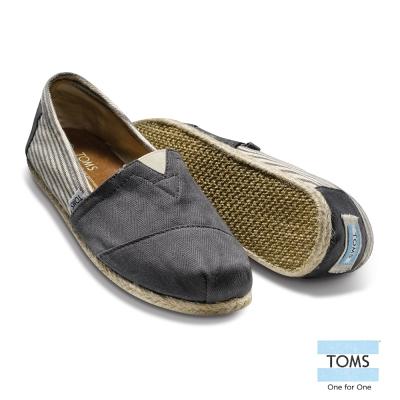 TOMS   經典學院懶人鞋-男款(灰)