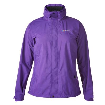 【Berghaus 貝豪斯】女款HS超輕防水透氣外套H22F21-紫