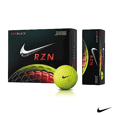 NIKE GOLF RZN BLACK 專業高爾夫球(4層球/組)綠