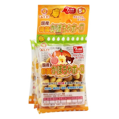 岩本製果 蛋黃南瓜小蛋酥5連包(75g)