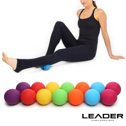 Leader X 穴位紓壓花生按摩球 筋膜球 顏色隨機 - 急速配