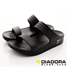 DIADORA-輕量Q彈拖鞋款-SFI260黑(女段)