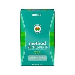 Method美則 香氛柔軟烘衣片80入-海藍鼠尾草