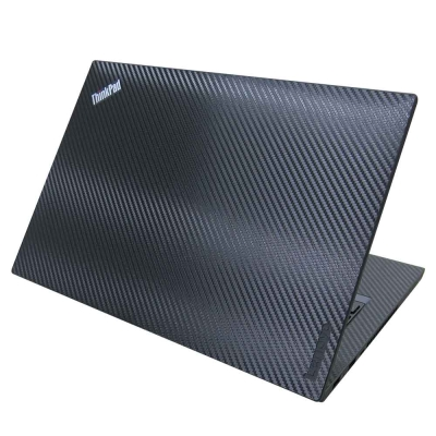 EZstick Lenovo ThinkPad T470 Carbon 黑色立體紋機身貼