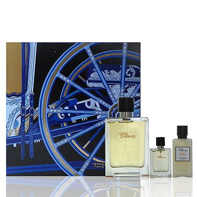 Hermes Terre D Hermes 大地淡香水 100 ml 禮盒 (藍色)