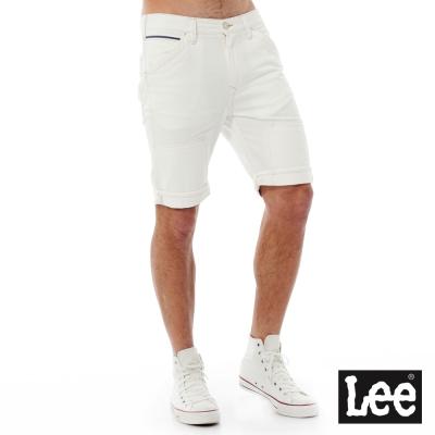 Lee Regional牛仔短褲-男款-白色