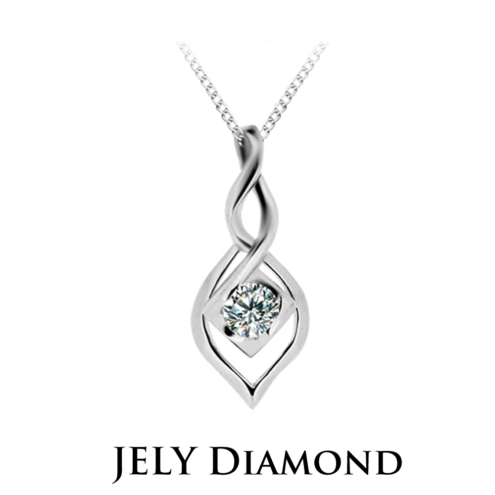 JELY Wonderland 約10分天然真鑽項鍊
