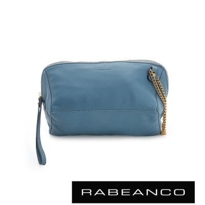 RABEANCO-心系列菱型多WAY鍊帶包-天藍
