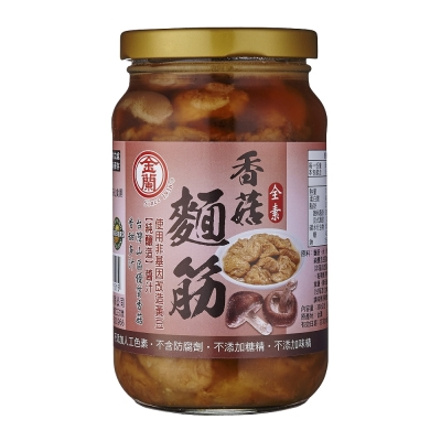 金蘭 香菇麵筋(380g)