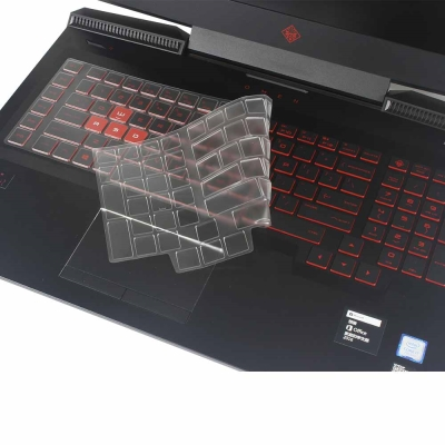 EZstick HP OMEN 17~an0xxTX 奈米銀抗菌 TPU 鍵盤保護膜