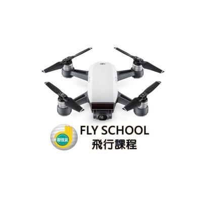 DJI Spark 迷你航拍機-全能套裝/初雪白(聯強貨)+聯強飛行課程