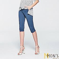 MONS 彈力休閒七分褲 共二色