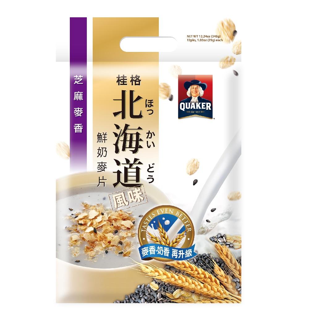 桂格 北海道芝麻麥香麥片(29gx12包)