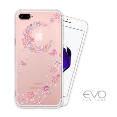 EVO CASE APPLE iPhone 7 plus 奧地利水鑽彩繪防摔殼-...
