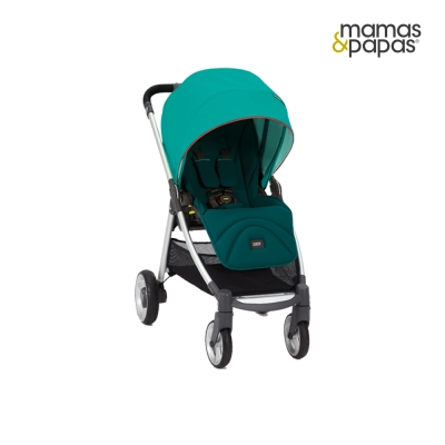 【Mamas & Papas】穿山甲雙向手推車XT - 水鴨綠