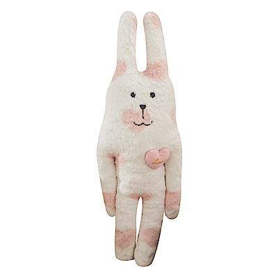 CRAFTHOLIC 宇宙人 粉紅甜心兔小抱枕