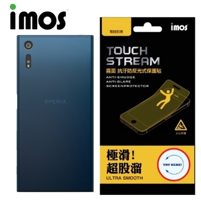 iMOS Sony Xperia XZ Touch Stream 電競 背面保護...